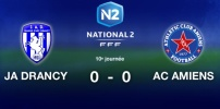 JA DRANCY / AC AMIENS : 0-0