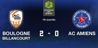 BOULOGNE BILLANCOURT / AC AMIENS : 2-0