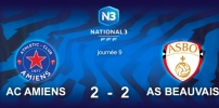 N3 : AC AMIENS / AS BEAUVAIS (2-2)