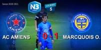 N3 : AC AMIENS / MARCQUOIS O. (0-1)