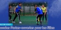 Journée Portes-ouvertes pour les filles à l'École de Foot