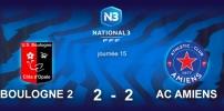 N3 : BOULOGNE 2 / AC AMIENS (2-2)