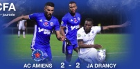 AC AMIENS / JA DRANCY : 2-2