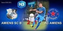 N3 : AMIENS SC B / AC AMIENS (2-1)