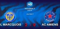 N3 : OL MARCQUOIS / AC AMIENS (2-0)