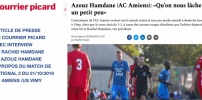 N3 : Article du Courrier Picard après le match AC AMIENS / US VIMY
