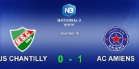 N3 : US CHANTILLY / AC AMIENS (0-1)