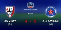 Coupe de France - US VIGNY / AC AMIENS (4-0)