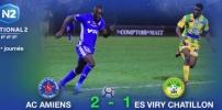 AC AMIENS / ES VIRY CHATILLON : 2-1