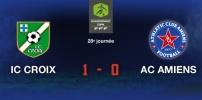 IC CROIX / AC AMIENS : 1-0