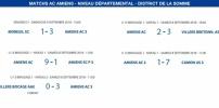 Matchs de District - 8 et 9 septembre