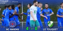 N3 : AC AMIENS / LE TOUQUET ACFCO (4-0)