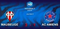 N3 : US MAUBEUGE / AC AMIENS (3-1)