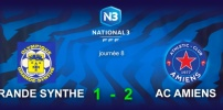 N3 : GRANDE-SYNTHE / AC AMIENS (1-2)