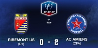 Coupe de France 4e Tour  - RIBEMONT US / AC AMIENS : 0-2