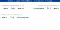 Matchs de la Ligue - 22 et 23 septembre