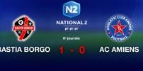 BASTIA BORGO / AC AMIENS : 1-0