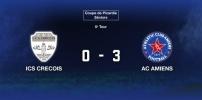 5e Tour Coupe de Picardie Séniors - ICS CRECOIS / AC AMIENS : 0-3