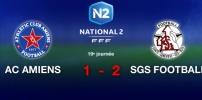 AC AMIENS / SGS FOOTBALL : 1-2