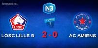 N3 : LILLE B /AC AMIENS (2-0)