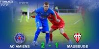 N3 : AC AMIENS / MAUBEUGE (2-1)