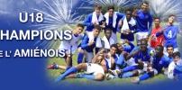 Coupe de l'Amiénois : Les U18 champions une fois de plus !