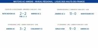 Matchs de la Ligue - 18 et 19 mai