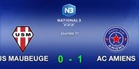 N3 : MAUBEUGE / AC AMIENS (0-1)