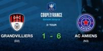 Coupe de France - GRANDIVILLIERS AC / AC AMIENS (1-6)