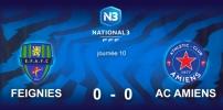 N3 : FEIGNIES / AC AMIENS (0-0)