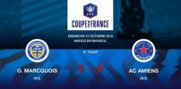 Coupe de France : Résultat 6e Tour