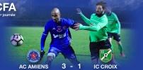 AC AMIENS / IC CROIX : 3-1