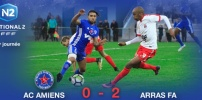 AC AMIENS / ARRAS FA : 0-2