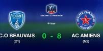 Coupe de France - C.O. BEAUVAIS / AC AMIENS (0-8)