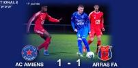 N3 : AC AMIENS / ARRAS FA (1-1)