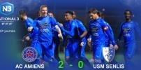 N3 : AC AMIENS / SENLIS (2-0)