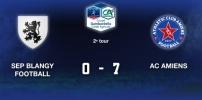 2e Tour Gambardella - SEP BLANGY / AC AMIENS : 0-7