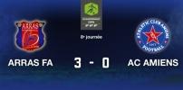 ARRAS FA / AC AMIENS : 3-0