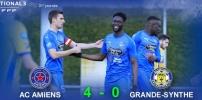 N3 : AC AMIENS / OL. GRANDE-SYNTHE (4-0)