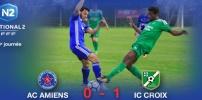 AC AMIENS / IC CROIX : 0-1