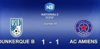 N3 : DUNKERQUE B / AC AMIENS (1-1)