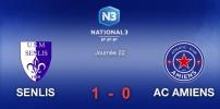 N3 : SENLIS / AC AMIENS (1-0)