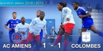 AMICAL : AC AMIENS / RACING COLOMBES (1-1)
