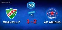 N3 : CHANTILLY /AC AMIENS (3-2)