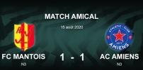 AMICAUX : FC MANTOIS / AC AMIENS (1-1)