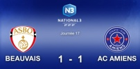 N3 : BEAUVAIS / AC AMIENS (1-1)