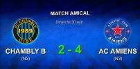 AMICAUX : FC CHAMBLY B / AC AMIENS (2-4)