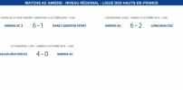 Matchs de la Ligue - 13 et 14 octobre