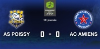 AS POISSY / AC AMIENS : 0-0