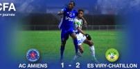 AC AMIENS / ES VIRY-CHATILLON : 1-2